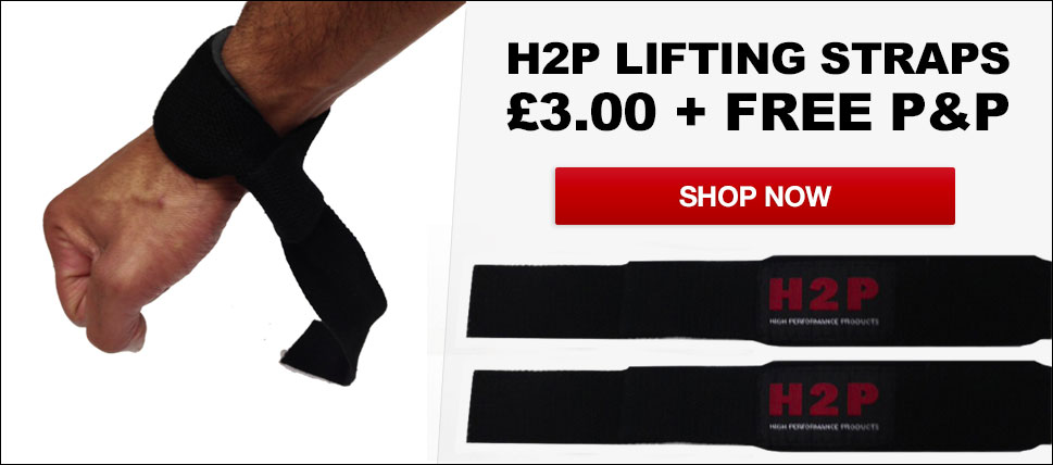 Buy H2P Lifting Straps only at The Gloves